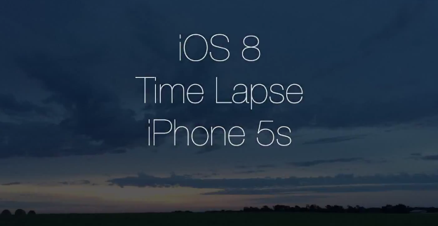 iOS-8-time-lapse-iPhone-5S