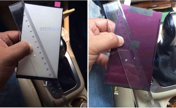 iPhone 6 5,5 pouces : premières images du composant LCD