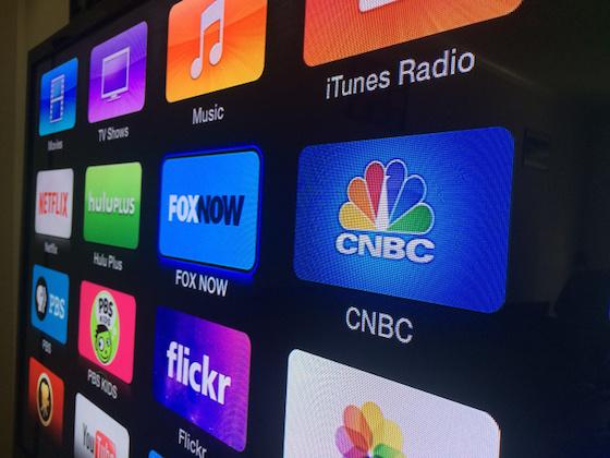 Apple TV : ajout des chaînes FOX NOW et CNBC