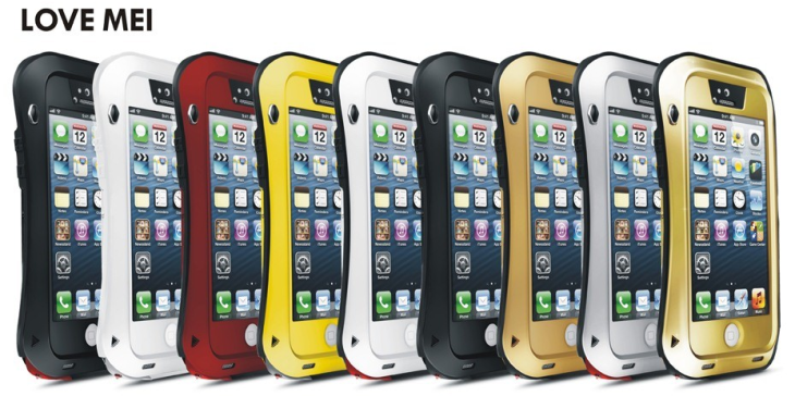Test :  Coque Love Mei Taktik pour iPhone 5/5S