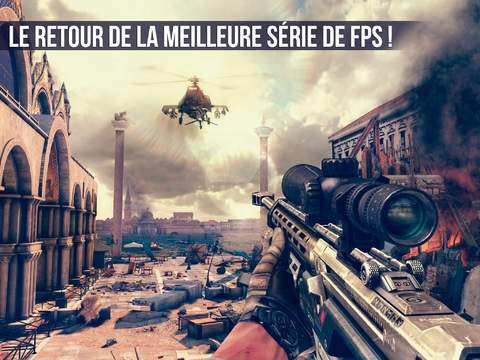 Gameloft : Modern Combat 5 Blackout disponible sur iPhone & iPad