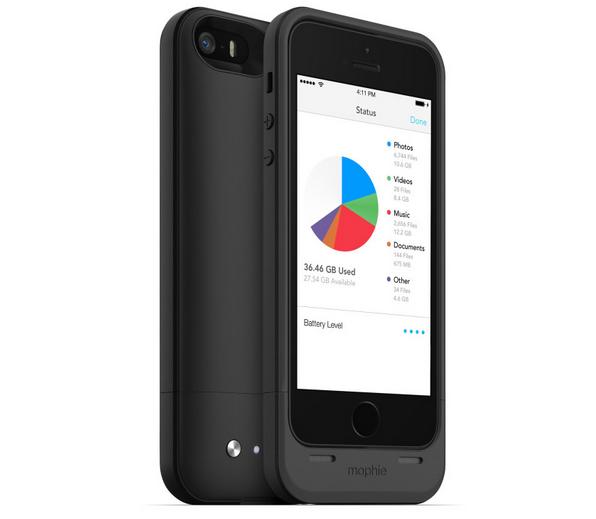 Mophie Space Pack : la batterie externe aux 64 Go de stockage