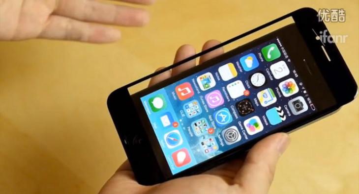 iPhone 6 : la façade avant de 4,7 pouces comparée à l'iPhone 5S