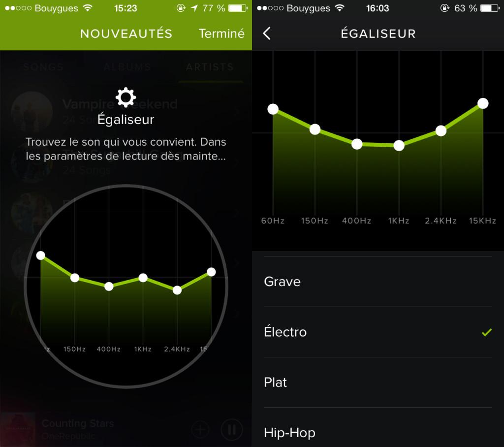 Spotify-egaliseur