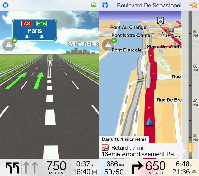 TomTom iPhone : mise à jour de la carte en version 1.18