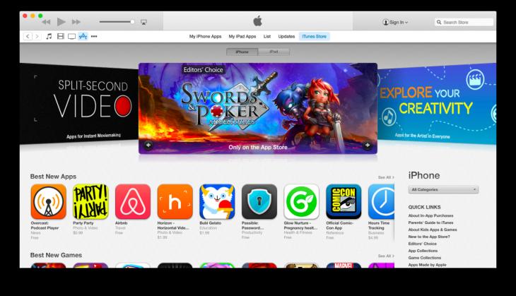 Apple lance iTunes 12 bêta avec un nouveau design
