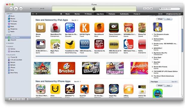 Apple : des revenus record en juillet pour l'App Store