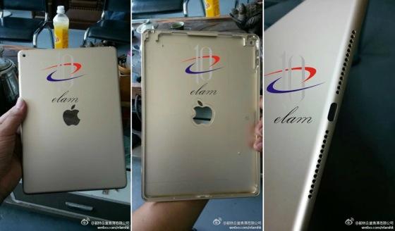 iPad Air 2 : de nouveaux clichés de la coque arrière