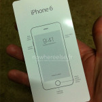 iPhone 6 : une photo du guide d'utilisation ?
