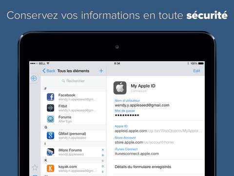 1Password gratuite sur iPhone & iPad pour la sortie d'iOS 8