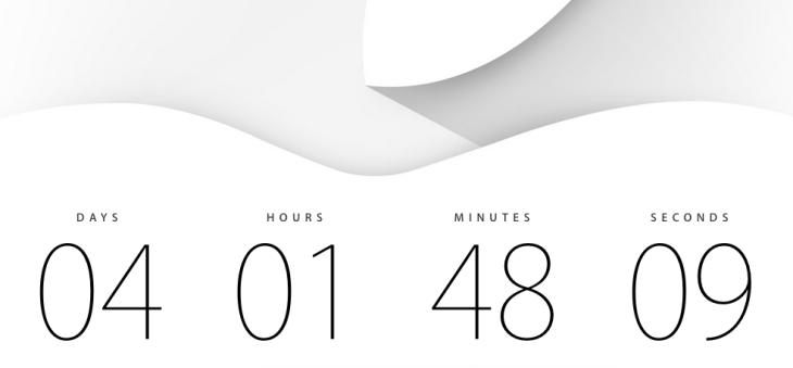Apple : la keynote du 9 septembre retransmise en direct