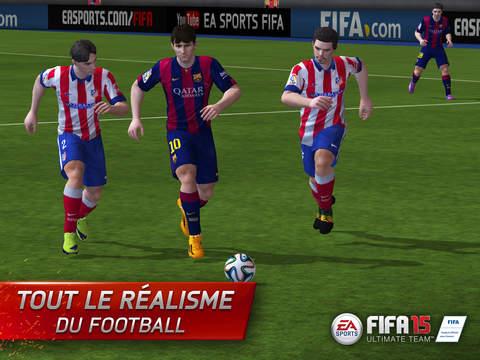 FIFA 15 disponible sur iPhone & iPad