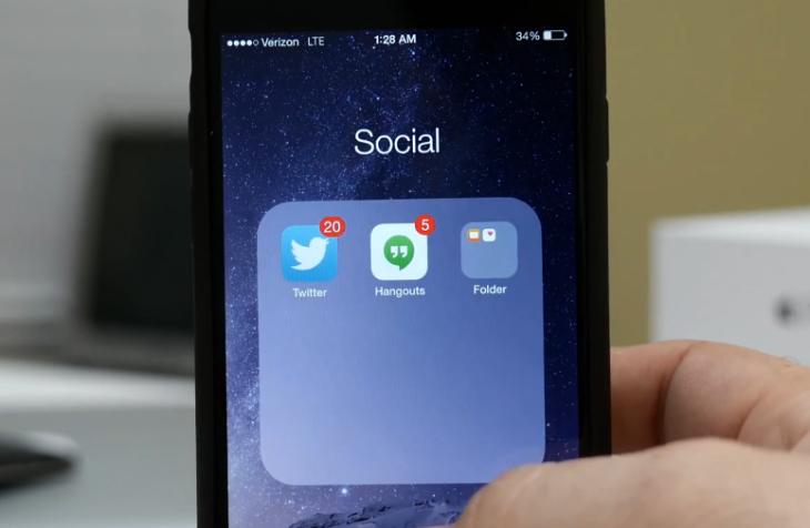 Tutoriel iOS 8 : comment créer un sous-dossier ?