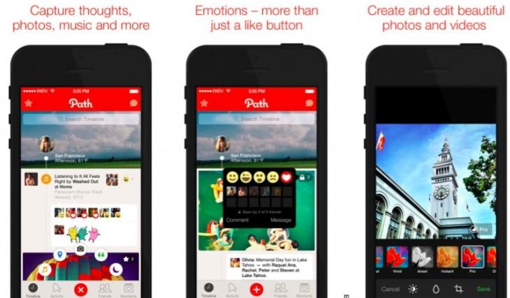 Apple pourrait racheter le réseau social Path