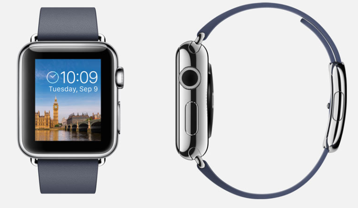 L'Apple Watch pourra s'adapter aux gauchers