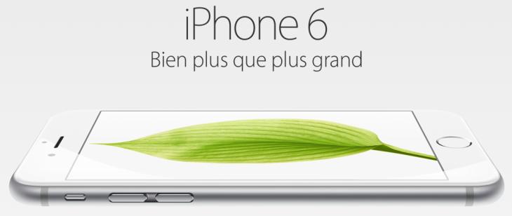 L'iPhone 6 disponible dans d'autres pays le 26 septembre