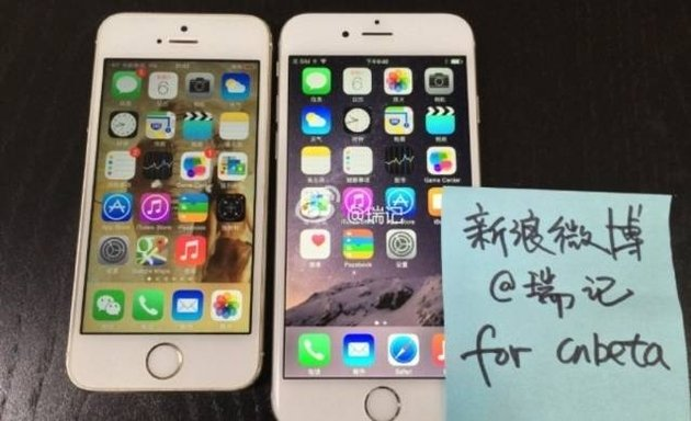iPhone 6 : photos et vidéo d'un modèle fonctionnel