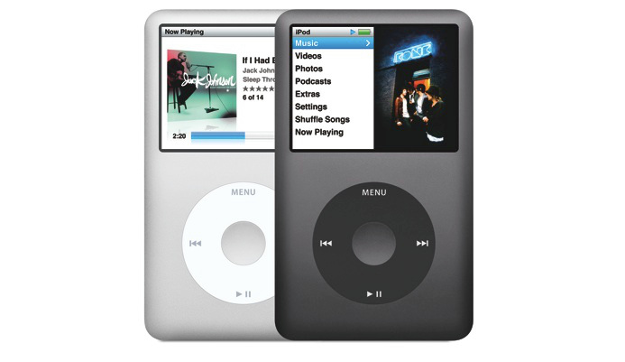 Apple dit adieu à l'iPod Classic