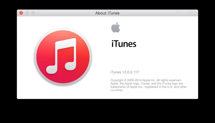 Apple lance une nouvelle version d'iTunes 12 bêta