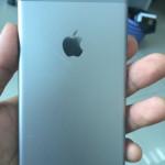 iPhone 6 : nouvelles photos d'une coque arrière grise