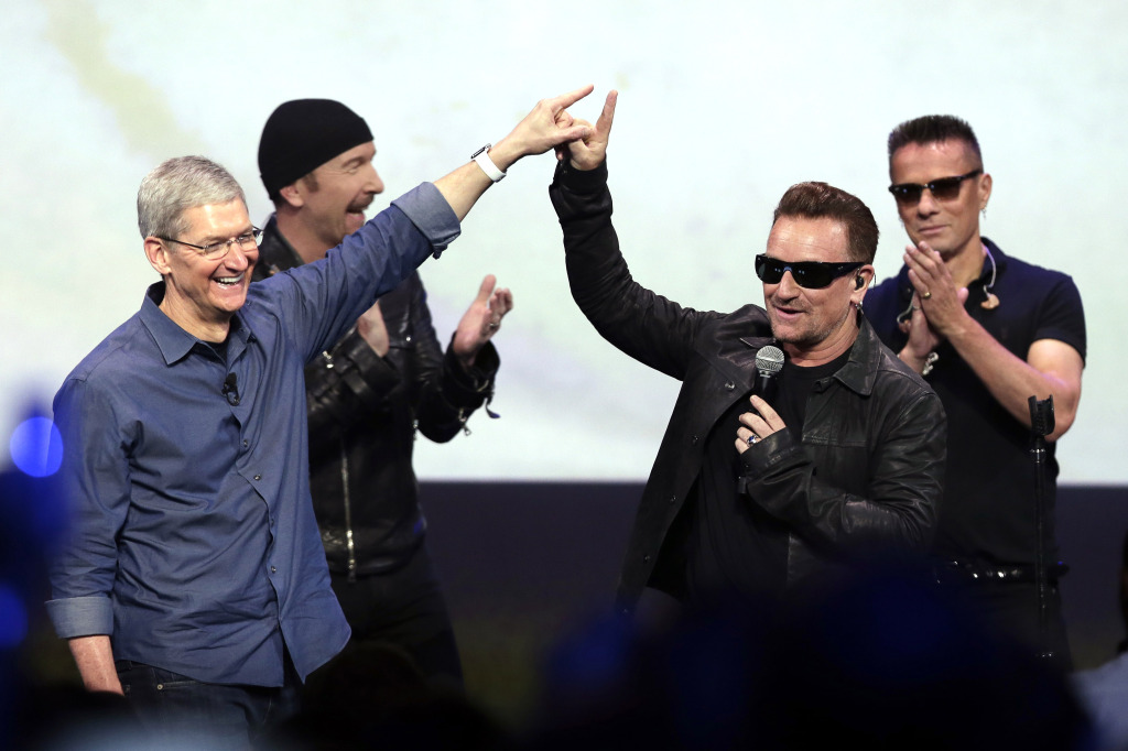 Apple et U2
