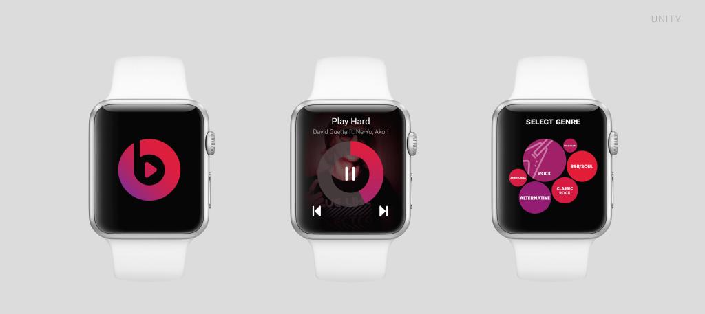 Beats Music Apple Watch