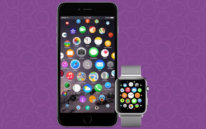 Concept iPhone : un iOS semblable à l'interface de l'Apple Watch