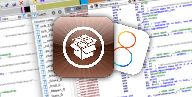 Cydia iOS 8 - Jailbreak : Cydia 1.1.23, extensions par applications & downgrade de tweaks