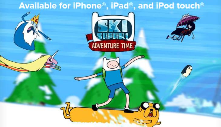 Ski Safari : Adventure Time gratuit un mois sur iPhone & iPad