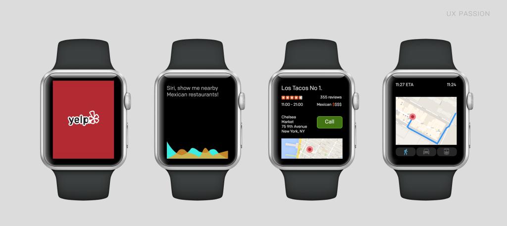 Yelp Apple Watch