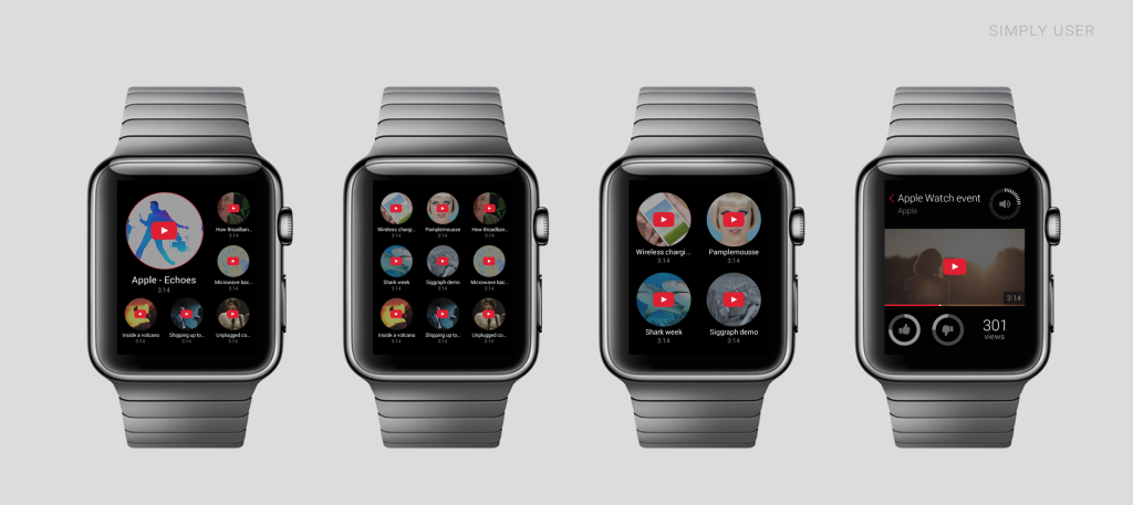 YouTube Apple Watch
