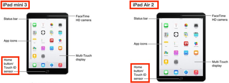 iPad Air 2 & iPad Mini 3 : le Touch ID confirmé par Apple