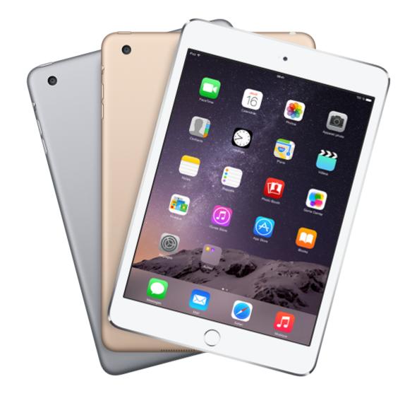 iPad Air 2 & iPad Mini 3 : début des précommandes