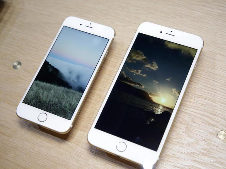 L'iPhone 6, trois fois plus vendu que l'iPhone 6 Plus aux US