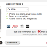 Free Mobile propose de louer l'iPhone 6