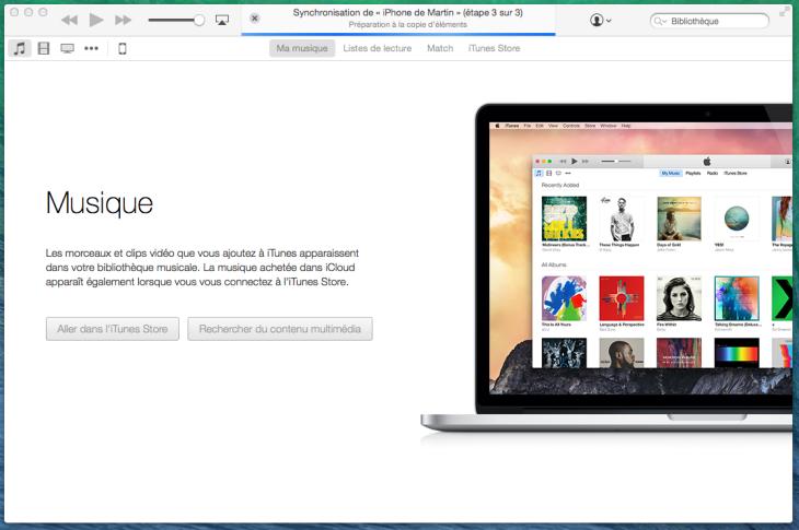 iTunes 12 disponible sur Mac et Windows