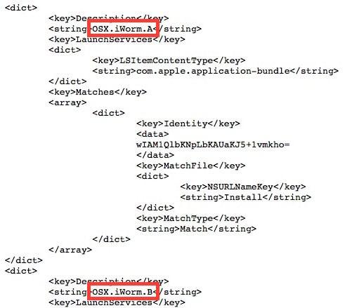 Apple : mise à jour de XProtect sur Mac pour éradiquer iWorm
