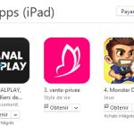 App Store : le bouton « Gratuit » remplacé par « Obtenir »