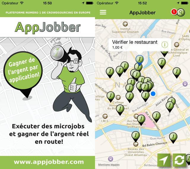 AppJobber : l'application de microjobbing sur iPhone