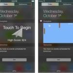 Overglide : un jeu dans le centre des notifications d'iOS 8