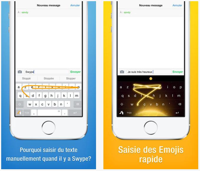 App Store : le clavier iOS 8 Swype gratuit temporairement
