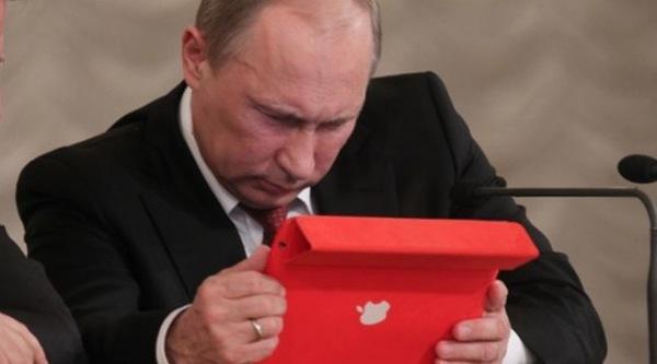 Vladimir-Poutine-iPad