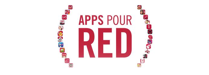 Apple (RED) : 20 millions de dollars récoltés pour lutter contre le sida