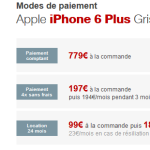 Free Mobile : l'iPhone 6 Plus disponible à la location