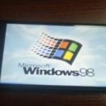 Insolite : Windows 98 installé sur un iPhone 6 Plus
