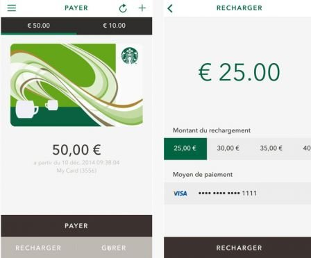 App Store : l'application Starbucks arrive en France
