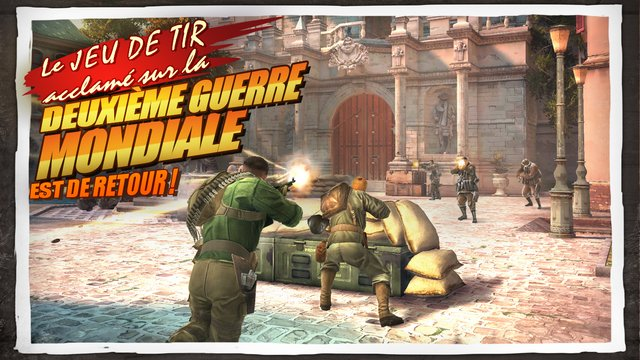 Gameloft : Brothers in Arms 3 disponible sur iPhone et iPad