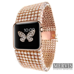 Diamond iWatch : un bracelet pour l'Apple Watch à 30 000 dollars