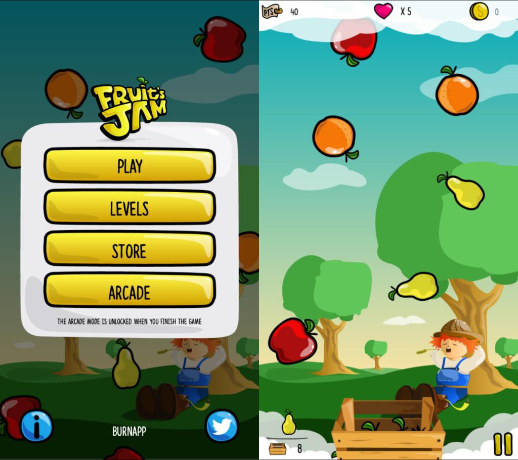 Fruits-jam-iphone