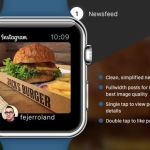 Apple Watch : un concept de l'application Instagram